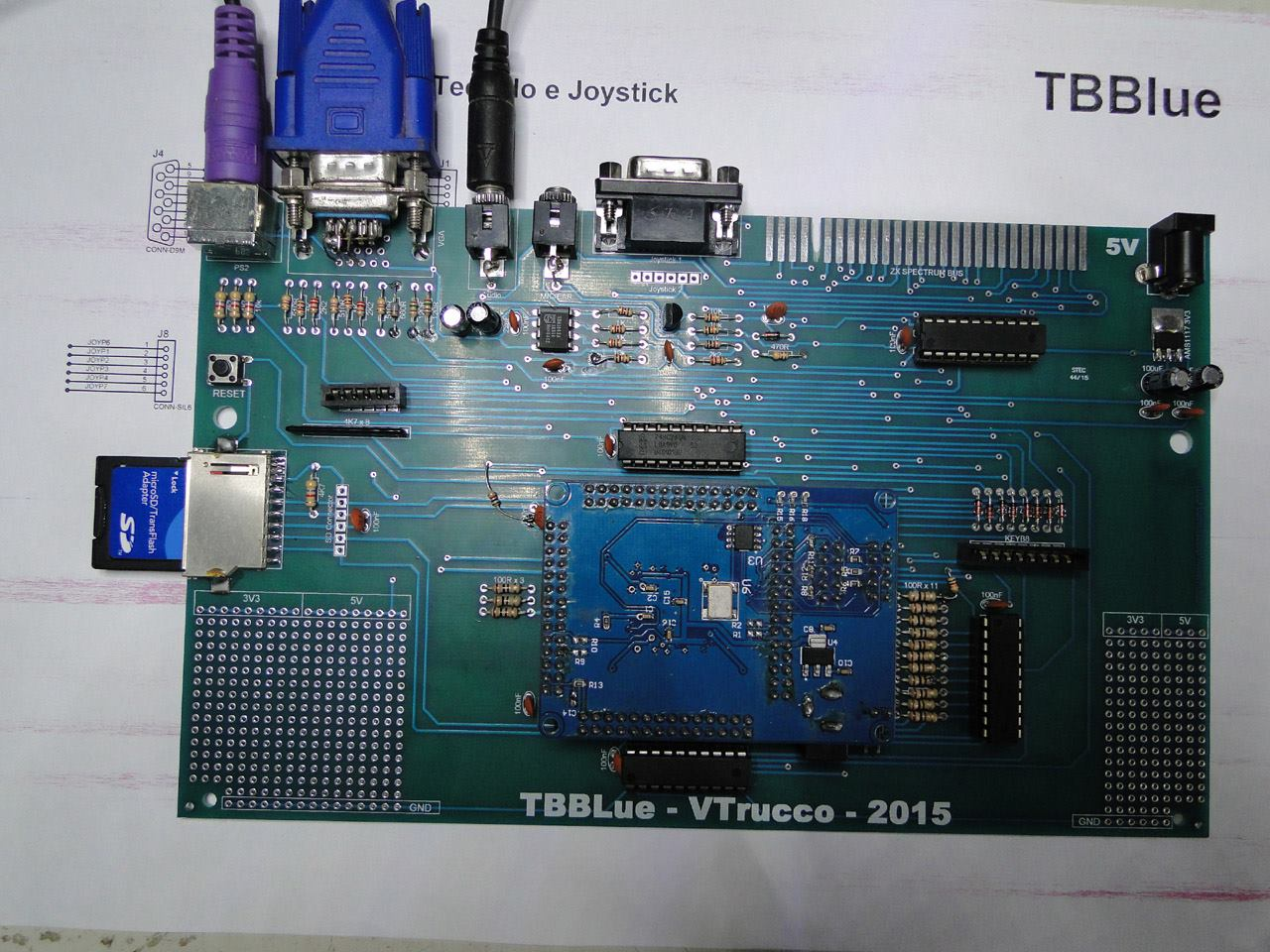 An evolution of TBBlue based around an Altera FPGA - 2015