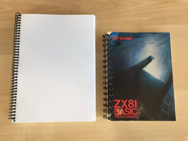 Compared to the original ZX81 manual