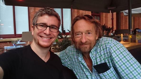 Henrique with Rick
